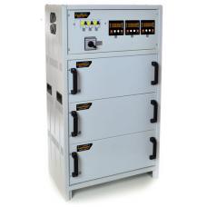 Трёхфазный стабилизатор напряжения РЭТА ННСТ-3х9,0 кВт NORMIC 40А