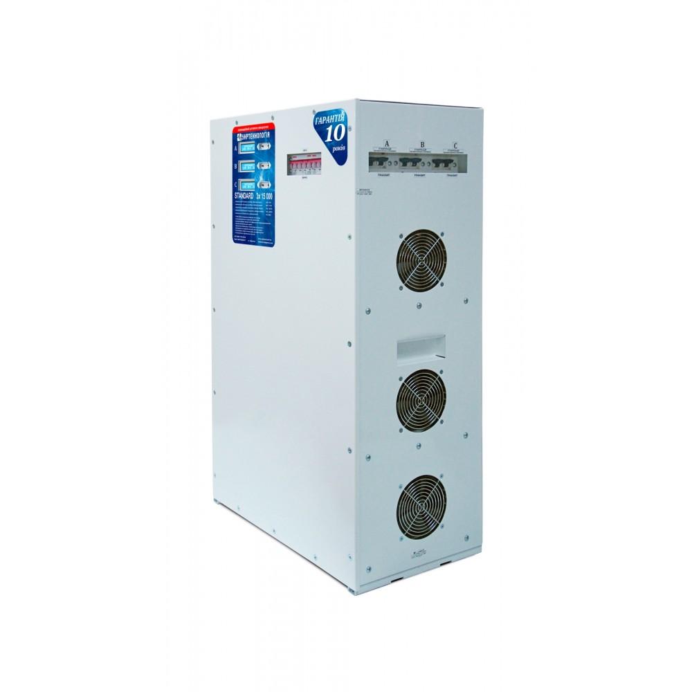 Фото - Трёхфазный Стабилизатор напряжения Standard 3x15000  1