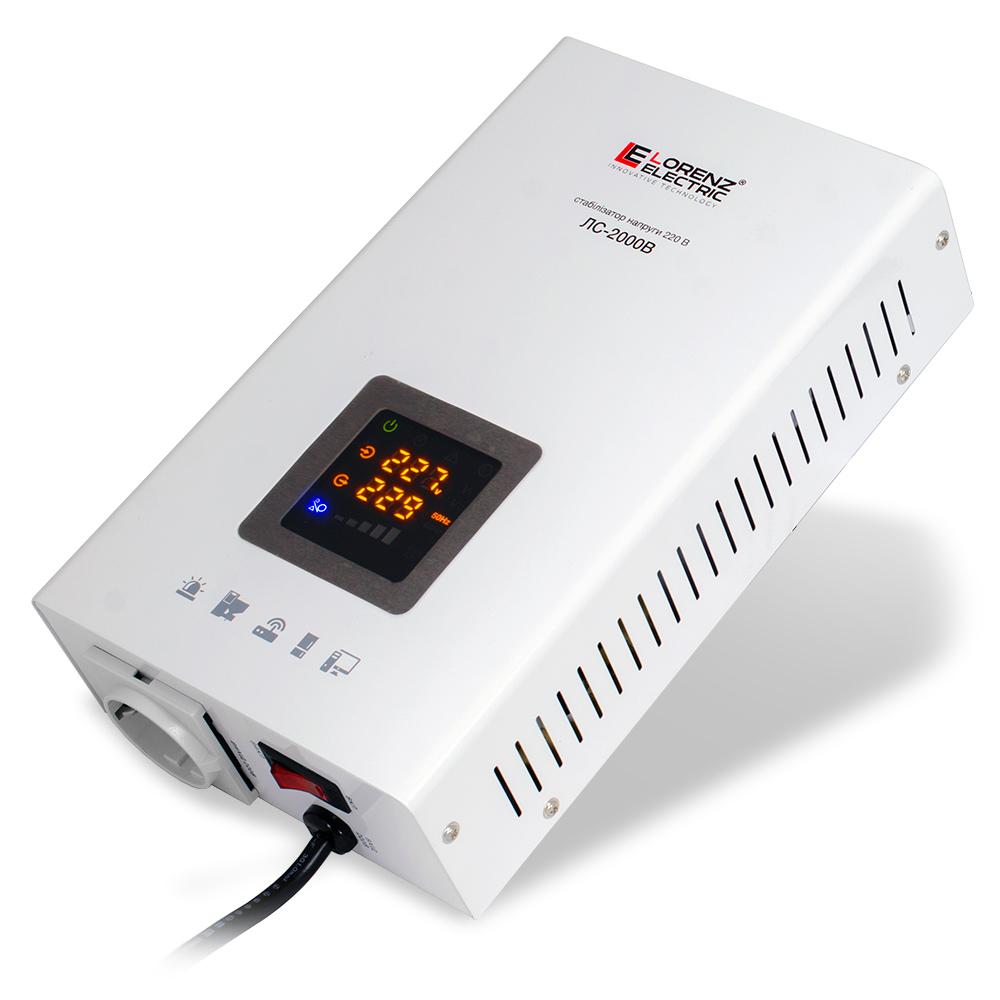 Фото - Стабилизатор напряжения Lorenz Electric ЛС-2000В  1