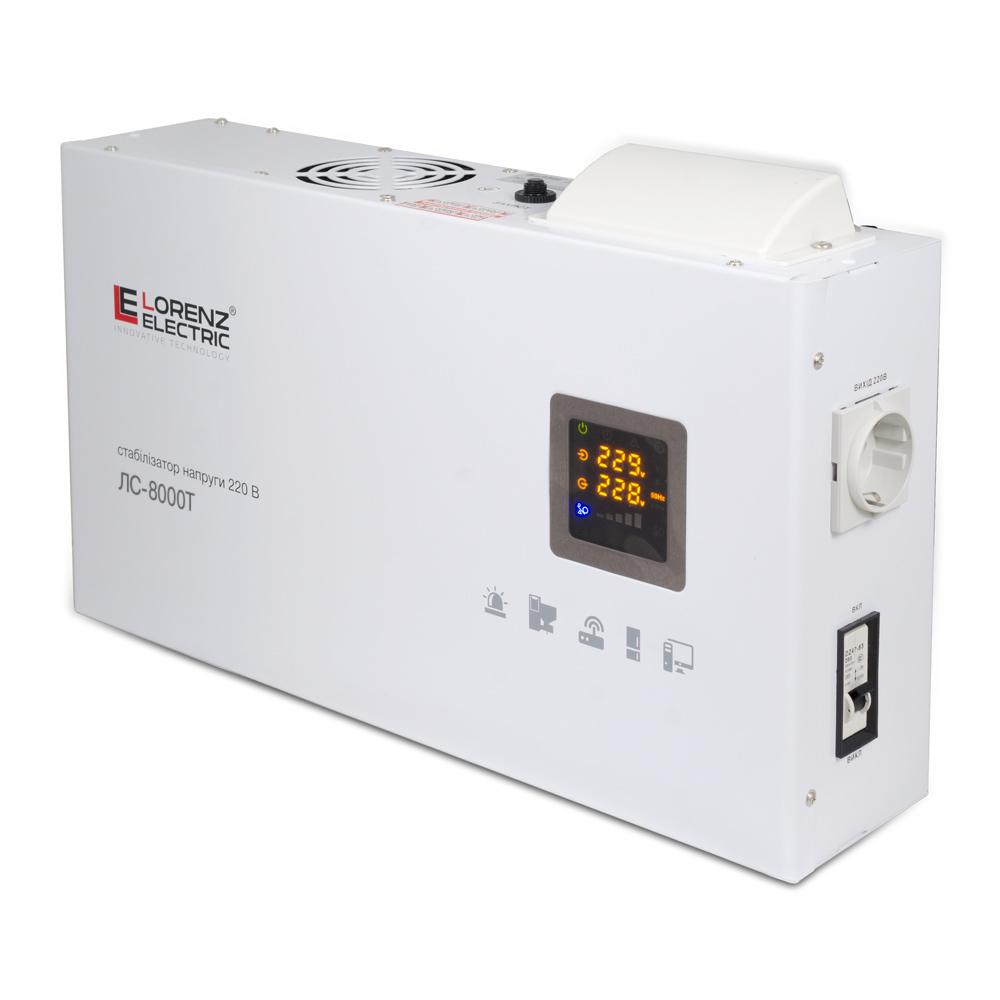 Фото - Стабилизатор напряжения Lorenz Electric ЛС-8000T