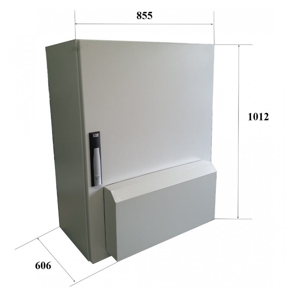 Фото - Трифазний стабілізатор напруги Прочан Awattom СНТПТ 52,8 (IP56)  1