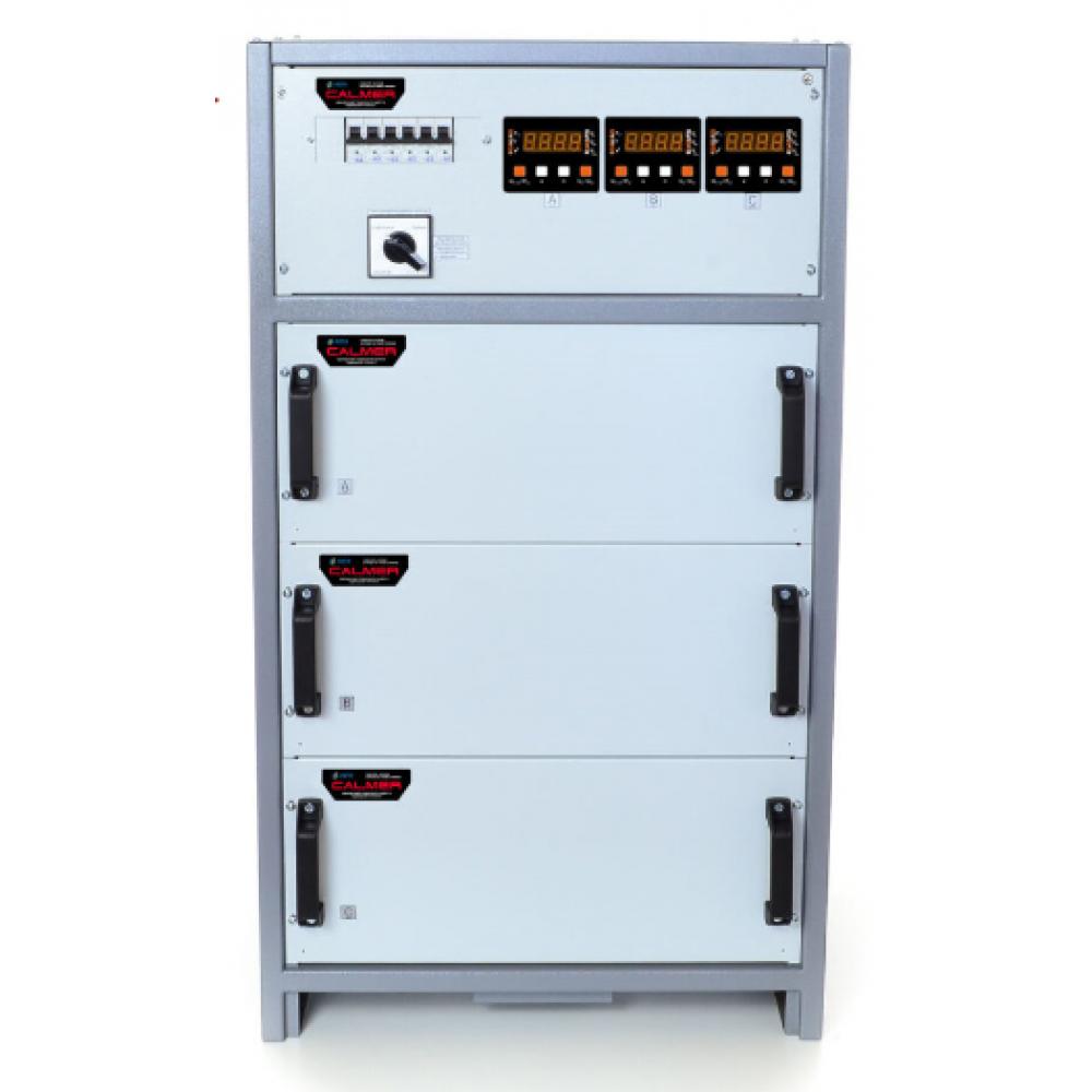 Фото - Трёхфазный стабилизатор напряжения РЭТА ННСТ-3х14 кВт CALMER 63А (INFINEON)  1