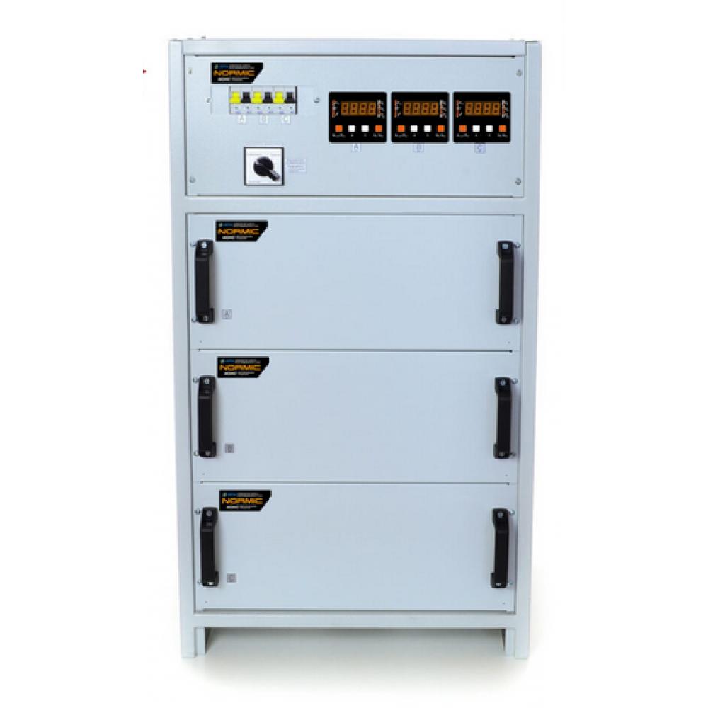 Фото - Трёхфазный стабилизатор напряжения РЭТА ННСТ-3х5,5 кВт NORMIC 25А  1